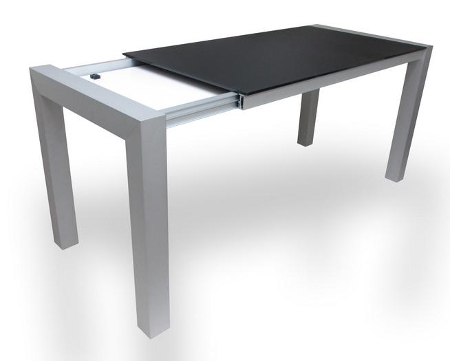 rozkládací stůl DOPIO při rozkládání
