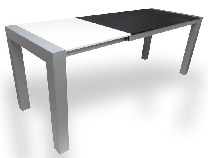 rozkládací stůl DOPIO v rozloženém stavu
